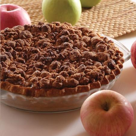 Drunken Apple Crumble Pie