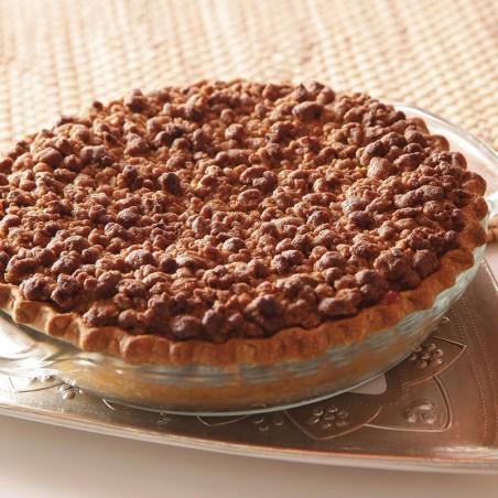 Tart Cherry Sweet Crumble Pie