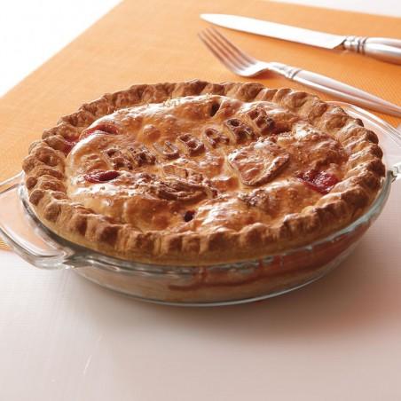 Country Strawberry Rhubarb Pie