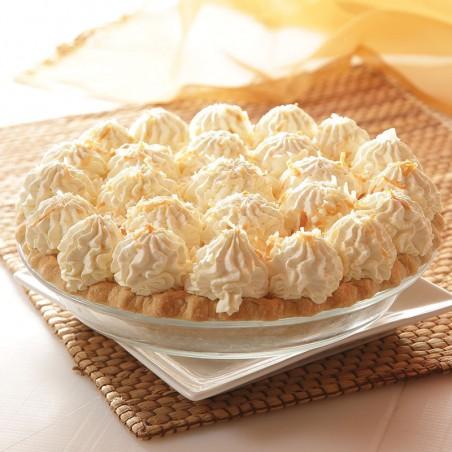 Pina Colada (Pineapple Coconut Cream) Pie