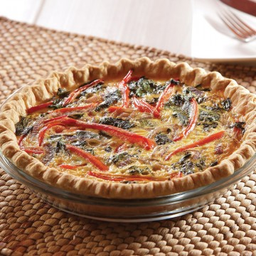 Greek Goddess Quiche