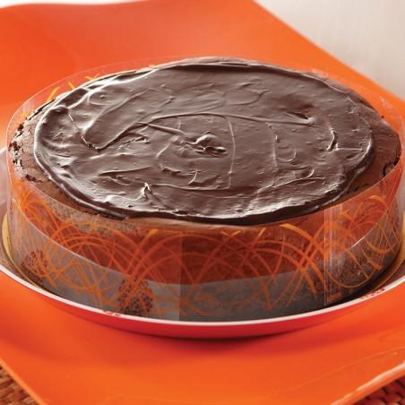 """Dark Chocolate Chocolate Cheesecake (9"""", 8-12 slices)"""
