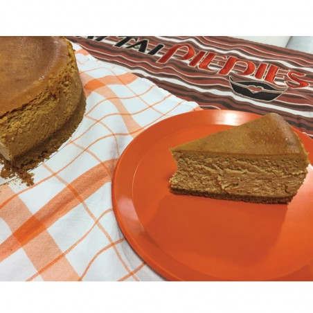 Smooth Pumpkin Spice Cheesecake