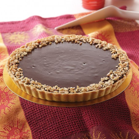 Chocolate Peanut Butter Cup Tart (8-12 slices)