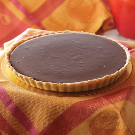 Dark Chocolate Indulgence Truffle Tart (8-12 slices)