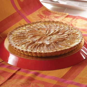 Spanish Creamy Apple Tart...