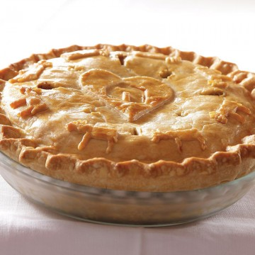 Savory Steak & Guinness Pie