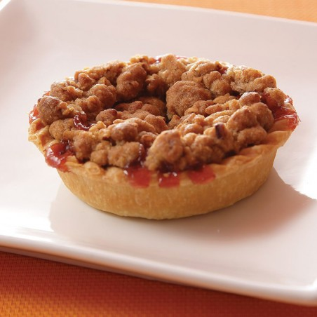 Tart Cherry Sweet Crumble Pie (individual)
