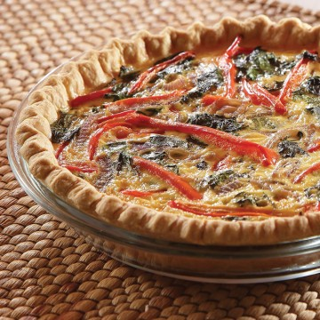 "4"" Greek Goddess Quiche..."