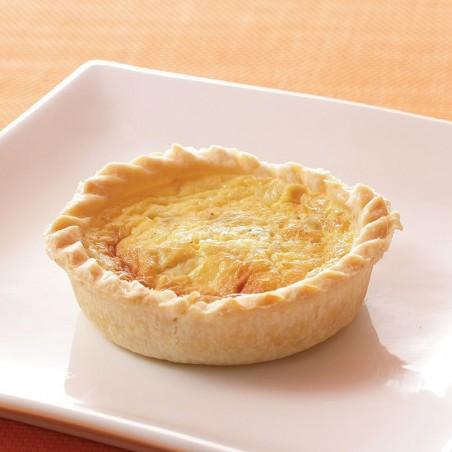 Cheese & Onion Quiche (individual)