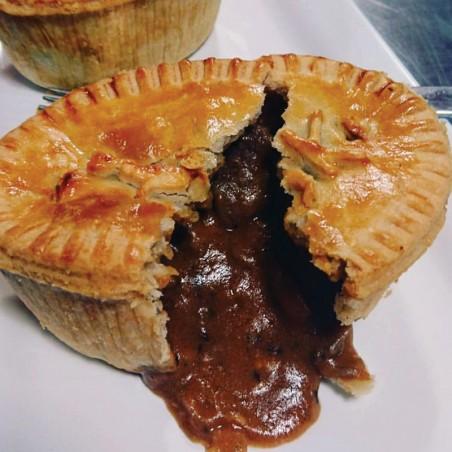 Savory Steak & Kidney Pie (individual)