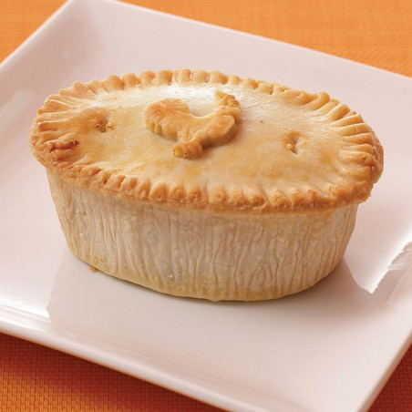 Frozen Creamy Chicken & Leek Pie (individual)