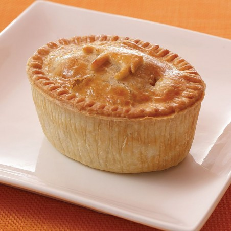 Frozen Savory Steak & Stout Pie (individual)