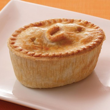 Frozen Chicken Curry Pie...