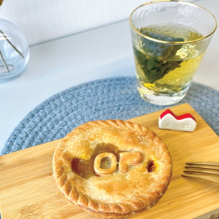 "OmniPork Curry Pie (Vegan) (individual 4"")"