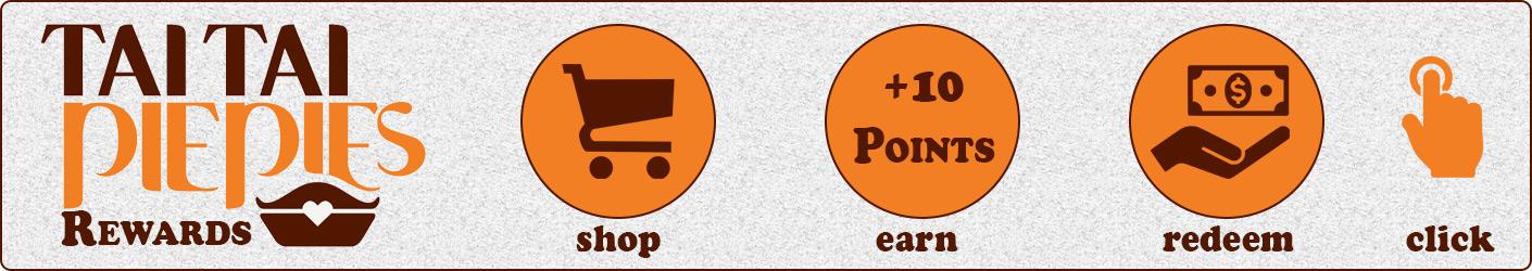 Tai Tai Pie Pie Online Rewards | CLICK HERE FOR DETAILS